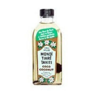 Monoi Tiare Tahiti Coconut Oil Gardenia (Tiare) w/SPF6 Monoi Tiare Cosmetics 4 oz Oil
