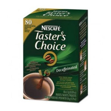 Taster's Choice Nescafe Coffee, Decaf Stick Pack, 4.79 oz, 160 ct
