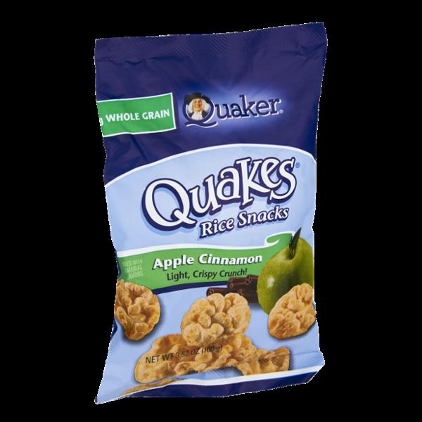Quaker Quakes Apple Cinnamon Rice Snacks