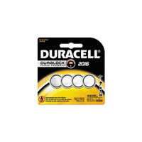 Duracell DL2016B4PK Button Cell Lithium Battery No. 2016, 4-Pk