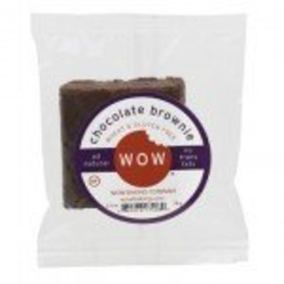 Wow Baking Company WOW Baking- Chocolate Brownie, All Natural, Wheat & Gluten Free, 2.75 oz cookie