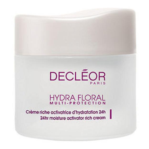 Decleor HYDRA FLORAL MULTI-PROTECTION 24hr Moisture Activator Rich Cream, 1.7 oz