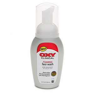 OXY Clinical Foaming Face Wash Acne Treatment