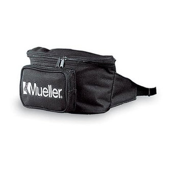 Mueller Fanny Pack, Empty, Black, 0.25-Pound
