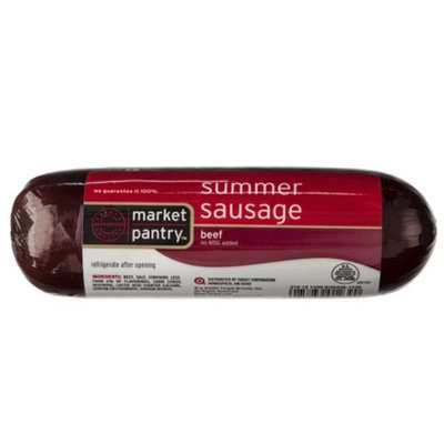 market pantry Market Pantry Beef Summer Sausage