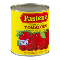 Pastene Italian Peeled Tomatoes in Puree with Basil Leaf