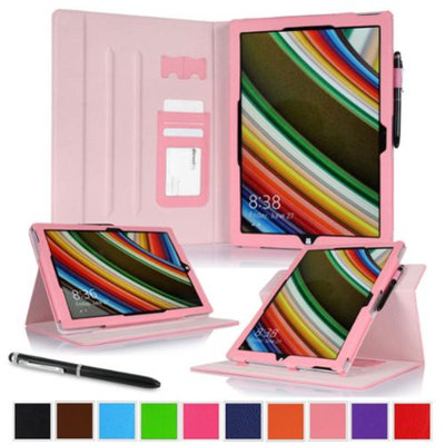 roocase Microsoft Surface Pro 3 Case - Dual View Multi-Angle Stand 12-Inch 12