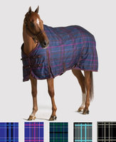 Pessoa 1200D Turnout Blanket 300G 70 Clay/Teal Plaid