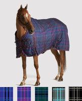 Pessoa 1200D Turnout Blanket 300G 78 Black/Clay Plaid
