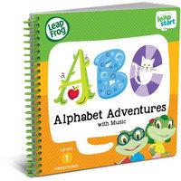 LeapFrog LeapStart Preschool Alphabet Adventures with Music Activity Book