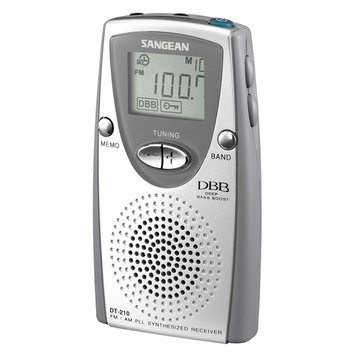 Sangean DT-210 25 Presets Am/Fm Portable Radio
