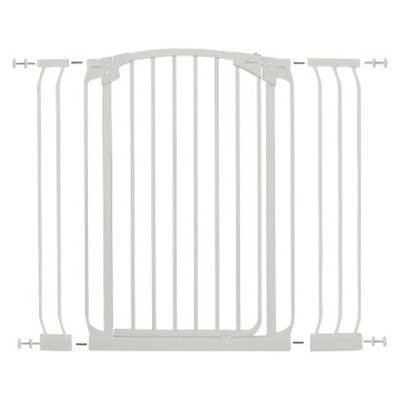 Dream Baby Extra Tall Swing Closed Security Gate Combo includes 2 extensions