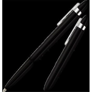 Fisher Space Bullet Space Pen with Chrome Clip Black