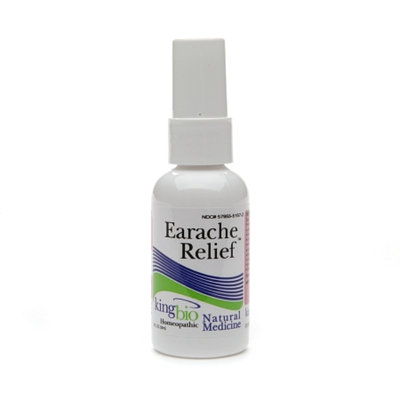 Natural Medicine by King Bio Earache Relief