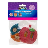 Super Pet Crispy Surprise Chew Small Animal Toy Style: Fruit