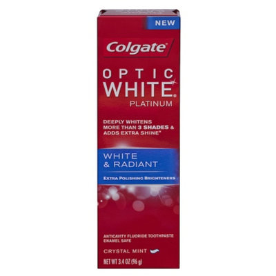 Colgate Optic White Platinum Toothpaste, White & Radiant
