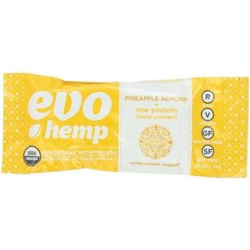 Evo Hemp Pineapple Almond Plus Protein Bar, 1.69 Ounce