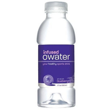 O Water O Infused Water, Vitalize, Blueberry, 20 Ounce Bottle (Pack of 12)