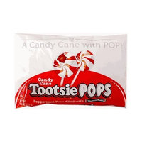 Candy Crate Peppermint Candy Cane Tootsie Pops