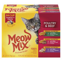 Meow MixA Tender Favorites Variety Pack Cat Food