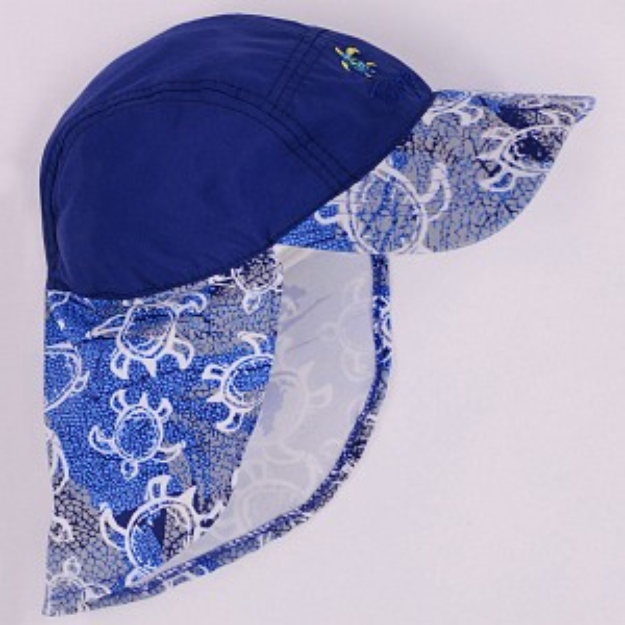 Tuga Boys Flap Hat (UPF 50+)
