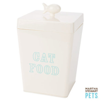 Martha Stewart PetsA Cat Food Container