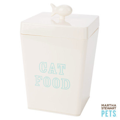 Martha Stewart PetsA Cat Food Container