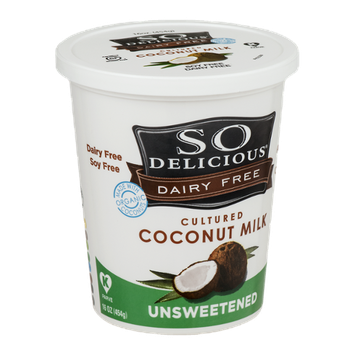 So Delicious Dairy Free Cultured Coconut Milk Unsweetened
