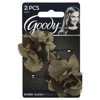 Goody Products Inc. FashioNow Camoflauge Flower Bobby Slides, 2 CT