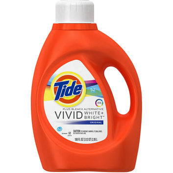 Tide 2X Ultra Liquid Laundry Detergent for High Efficiency Machines With Bleach Alternative