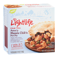 Lightlife Veggie Pot Pie Meat Free Amaz'n Masala Chik'n