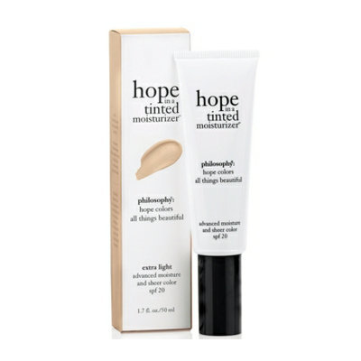 philosophy hope tinted moisturizer spf 20