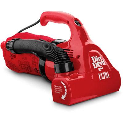 Dirt Devil Ultra Bagged Handheld Vacuum, M08230RED
