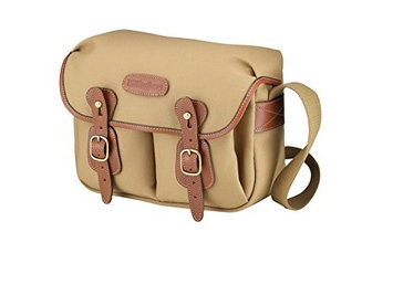 Billingham Hadley Small Camera Or Document Shoulder Bag Canvas With Tan Leather Trim And Brass Fittings Khaki HEC0GAFWT-1608