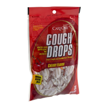 CareOne Cough Drops Cherry Flavor