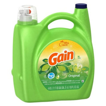Gain High Efficiency Liquid Laundry Detergent - Original (150 oz)