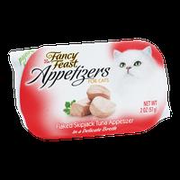 Fancy Feast Appetizers for Cats Flaked Skipjace Tuna Appetizer