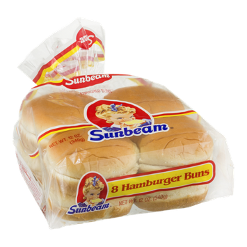 Sunbeam Hamburger Buns - 8 CT