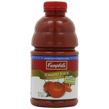 Campbell's Tomato Juice, 32 Fl Oz Bottles (Pack of 8)