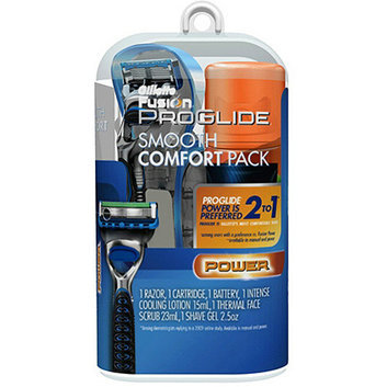 Gillette Fusion ProGlide Smooth Comfort Pack