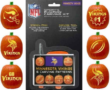 Minnesota Vikings Pumpkin Carving Kit Topperscot