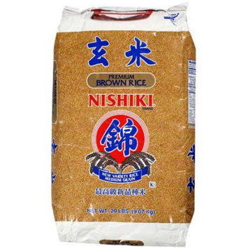 Nishiki: Premium Brown Rice Rice, 20 Lb