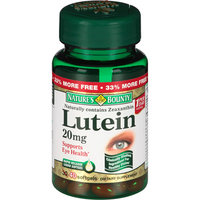 Nature's Bounty Lutein Softgels