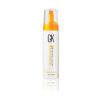 Global Keratin GK Global Keratin Hair Taming System Styling Mousse for Unisex, 8.5 Ounce