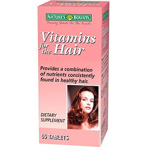 Nature's Bounty Vitamins for the Hair