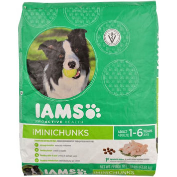 Iams 30 Lbs. ProActive Health MiniChunks All-Natural Adult Dog Food