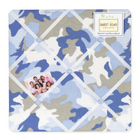 Sweet Jojo Designs Camo Blue Collection Memo Board