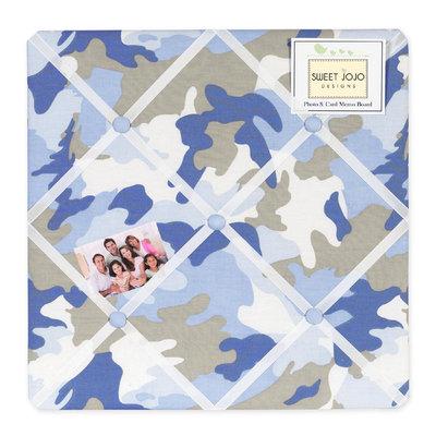 Sweet Jojo Designs Camo Blue Collection Memo Board