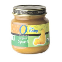 O Organics for Baby Organic Squash, Stage 2, 4-Ounce Jars (Pack of 12)