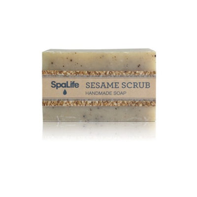 Msl-soap1-ss Spa Life Hand-made Sesame Scrub Soaps (Pack of 2)